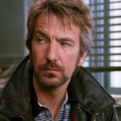 "1989 - Alan Rickman as Ed in ""The January Man."""
