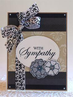 With Sympathy *Momenta* - Scrapbook.com