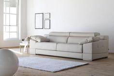 Sofa de piel de diseño modelo Nicola – SIDIVANI