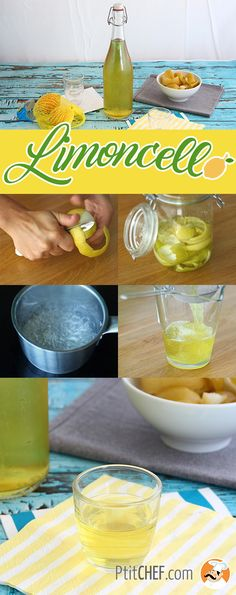 #ptitchef #recette #boisson #limoncello #faitmaison #recipe #drink #homemade #apéritif #citron #lemon #diy #imadeit Limoncello Drinks, Smoothies, Healthy Cocktails, Mojito, Sangria, Herbal Remedies, Cocktail Recipes, Serving Bowls, Panna Cotta