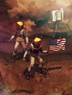 Vamos chegar logo a Marte? Ou só vamos alcançar a Lua?