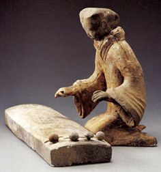 Pottery Musician, century BC Western Han Dynasty Height: 33 cm Unearthed from Tuolanshan King of Chu tomb 1989 Xuzhou Museum, Jiangsu Province Historical Artifacts, Ancient Artifacts, Ancient History, Art History, Design Oriental, Art Chinois, Art Antique, Terracota, China Art