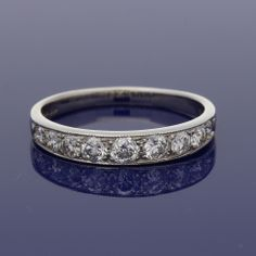 18ct Graduated Diamond Eternity Ring £1,095.00 Wedding Bands, Our Wedding, Eternity Ring Diamond, Gold Art, Engagement Rings, Metal, Jewelry, Style, Enagement Rings