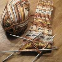 Spiralsocken - die Socken ohne Ferse
