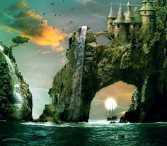 Treasure Island by kimsol.deviantart.com on @DeviantArt