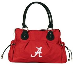 Bethel International University of Alabama Polyester Handbag Crimson Tide $69.99