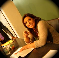 @Rachael Ray at her Book of Burger book signing in New York, NY