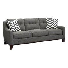 Contemporary Gray Sofa | Nebraska Furniture Mart