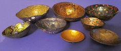 Ultimate Paper Mache: Lynn Harriet ~ Not Your Grade School Paper Mache Bowls.