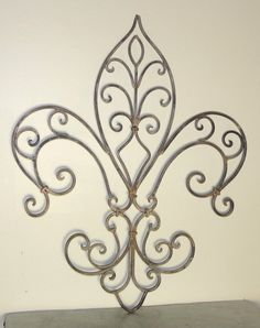 Wrought Iron Decorative Wall Pieces New This Tuscan 64'' Large Rectangular Wrought Iron Wall Grille Plaque Design Ideas