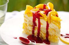 'Mangomisu' - Aussie summer dessert http://www.taste.com.au/recipes/23798/mangomisu