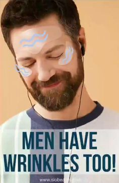 Skincare for men: 10 tips for preventing and caring for wrinkles Diy Skin Care, Skin Care Tips, One Less Problem, Wrinkle Remedies, Male Grooming, Radiant Skin, Bearded Men, Helpful Hints, Moisturizer