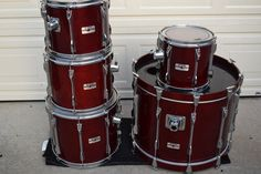 -used drums for sale Girl Drummer, Used Drums, Drums For Sale, Drum Kits, Yamaha, Birch, Shells, Music Instruments, Conch Shells