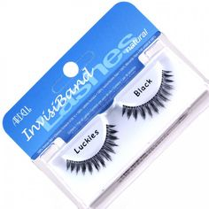 Ardell Invisiband Eyelashes #Luckies Ardell Eyelashes, Cosmetics, Makeup, How To Make, Beauty, Maquillaje, Beleza, Maquiagem, Beauty Products