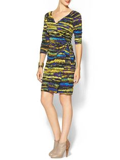 Tinley Road Printed Knit Wrap Dress | Piperlime