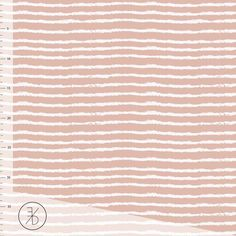 On the Line Jersey, Dusty Pink by Elveyckan Design