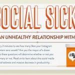 [Infografía] ¿Demasiado social media en tu vida?