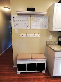 H Family Happenings: Our Kitchen Drop Zone/Command Center