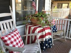 Best July 4th Porch decor ideas