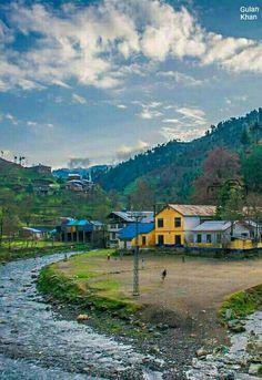 Beautiful photography of Fantastic houses in Shangla valley Swat Khyber Pakhtunkhawa Pakistan