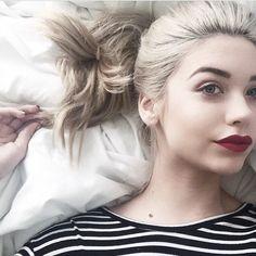 amanda steele, hair, and blonde image