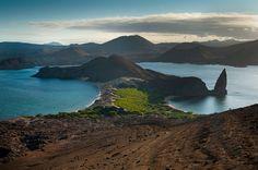 Pinnacle Rock in the Galápagos Islands - Photo by Reinier Munguia. Ecuador, Galapagos Islands, Rock, Water, Travel, Outdoor, Gripe Water, Outdoors, Viajes