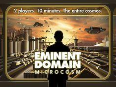 Eminent Domain: MICROCOSM + TMG Promos by Michael Mindes — Kickstarter