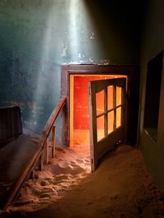 Shaft Of Light | Kolmanskop Ghost Town | Namibia | Photo By Patti Schulze