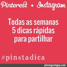5 Dicas rápidas sobre Pinterest e Instagram