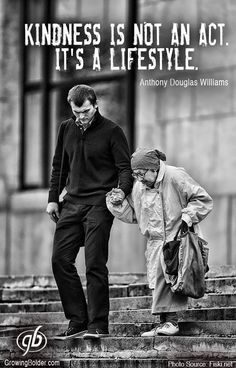 This is exactly like my oldest son hes always kind and respects the elderly...i love that about him...