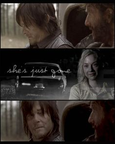 """""""So Beth is 'just gone' Daryl? Really? Not, 'She was kidnapped by someone in a car, I chased her and lost the track, but she's could still out there somewhere.'?"""""""