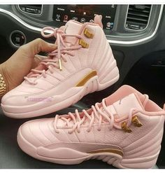 baby pink twelves... these so fresh!