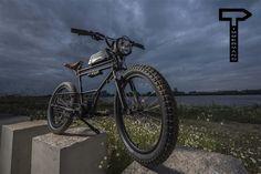 Mercenary Garage: Timmermans Fietsen Scrambler E-Bike Mountain Bike Shoes, Mountain Biking, E Mobility, Cafe Racer Build, Road Bike Women, Bicycle Maintenance, Cool Bike Accessories, Bike Seat, Cycling Bikes