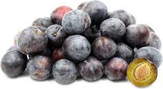 Blue Damson Plums Information and Facts