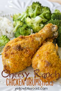 Cheesy Ranch Chicken Drumsticks - These were pretty good...not exceptional, but the kids liked them.