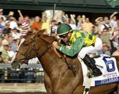 Dullahan ran down Hansen in the final furlong to enter his own name into the favorites for the Kentucky Derby.
