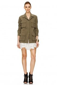 #pnkcasual #pnkworld  #ss15 #NewCollection #fashion #cool #outfits Ss 15, Summer Collection, Military Jacket, Army, Spring Summer, Boho, News, Casual, Jackets