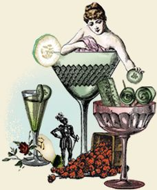 Chaz Rini - Illustrator for Hendrick's Gin - Whimsical Humor