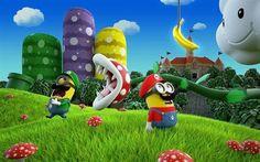 Minions fantasiados - Mario Bros