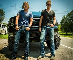 Florida Georgia Line | Tyler Hubbard & Brian Kelley (btw, I want that truck!)