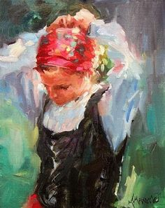 """Free Shipping Through December!"" - Original Fine Art for Sale - © Mary Maxam"