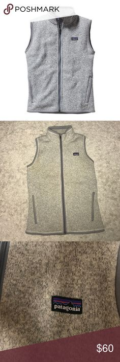 Patagonia Gray Better Sweater Vest XS Only been worn once. In perfect condition! Bought for full price from REI Patagonia Jackets & Coats Vests