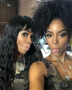 d827f1b3 Kelly and Michelle 2018 Coachella Destiny's Child Songs, Black Celebrities,  Pretty Hairstyles, African