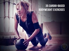 Make sure you stay hydrated & go at your own pace. As you would never want to pass out during a workout. These Cardio-Based Bodyweight Exercises will be sure