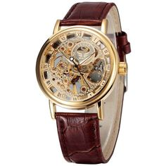 b459936200f Imported Precision Mechanical Movement - Luxury New Retro Style Skeleton  Design - 100% Brand