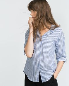 Image 2 of OVERSIZE SHIRT from Zara