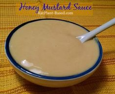This Honey Mustard Sauce is so easy to make with only 5 ingredients. It's great as a salad dressing, sandwich or wrap topping, and even on potatoes. Bee Free Honee link included in recipe.