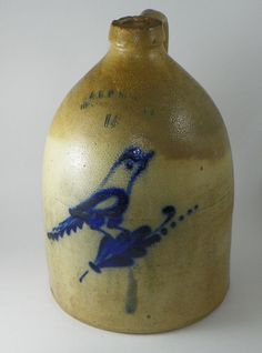 Bennington Bird Jug