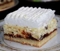 Rákóczi János cukrászmester remeke soha nem megy ki a divatból. My Recipes, Cooking Recipes, No Bake Desserts, Dessert Table, Vanilla Cake, Tiramisu, Breakfast Recipes, Cheesecake, Sweets