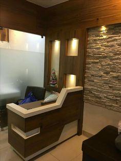 Best Ideas For Bath Room Sink Corner James Darcy Office Cabin Design, Office Furniture Design, Office Interior Design, Shop Interiors, Office Interiors, Office Reception Design, Pooja Room Door Design, Counter Design, Decoration